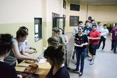 Durante esta semana están atendiendo a los alumnos del Colegio Nuestra Señora de Fátima de Río Gallegos