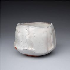 Kaneta Masanao teabowl Japanese white