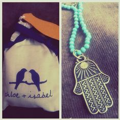 """""""My Klout perk from Chloe+Isabel came in! Made my day better. :)"""" -- via @writerary"""