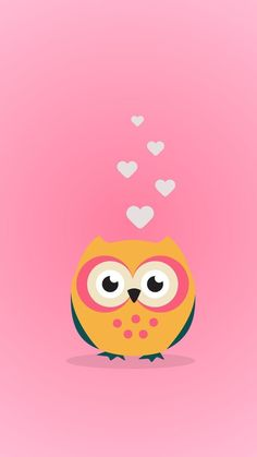 Pin by 🎀 sofia 🎀 on owl wallpaper Owl Wallpaper Iphone, Cute Owls Wallpaper, Cute Wallpaper For Phone, Cute Wallpaper Backgrounds, Animal Wallpaper, Girl Wallpaper, Cartoon Wallpaper, Phone Backgrounds, Owl Background