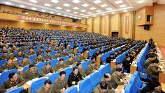 당, 국가, 경제기관, 무력부문 일군련석회의 진행-《조선의 오늘》
