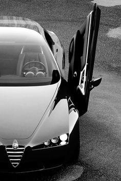 Alfa Romeo Brera (Type 939) initially designed by Giorgetto Giugiaro at Italdesign Giugiaro and later by Pininfarina.