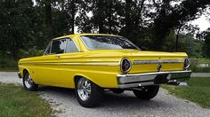 1965 Ford Falcon Sprint HP, presented as lot at Dallas, TX 2015 - Old School Muscle Cars, Old School Cars, 65 Ford Falcon, Ford Classic Cars, Ford Galaxie, Drag Cars, Ford Motor Company, Old Cars, Vintage Cars