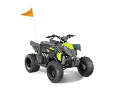 New 2017 Polaris Outlaw® 110 ATVs For Sale in Texas. LIME SQUEEZE For riders 10 years old and older with adult supervision Parent-adjustable speed limiter Electronic Fuel Injected (EFI) 112 cc Engine