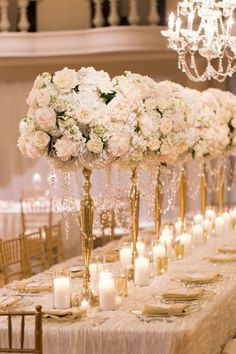 Vintage wedding centerpieces - 20 Gorgeous Tall Wedding Centerpieces for Your Big Day – Vintage wedding centerpieces Vintage Wedding Centerpieces, Wedding Table Centerpieces, Wedding Flower Arrangements, Floral Centerpieces, Wedding Decorations, Romantic Centerpieces, Centerpiece Ideas, Table Setting Wedding, Candlestick Centerpiece