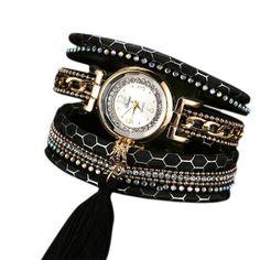 Duoya Brand Women Watch Bracelet Wristwatch Female Girl Watch