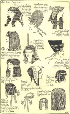Egyptian headresses