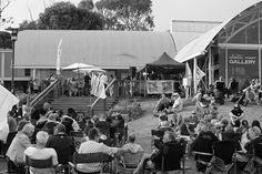 On the last Sunday, during the Summer months, Cittaslow has a free event at Goolwa Wharf with free band entertainment.