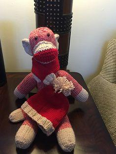 Ravelry: Shirelwebb's Sock Monkeys