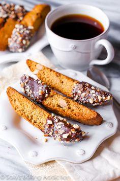 Chocolate Almond Biscotti