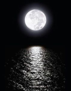 Full moon, moonlight and you drive me crazy