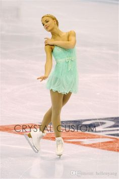 Custom Figure Skating Dresses For Women With Spandex Graceful New Brand Figure Skating Competition Dress Girls DR2704
