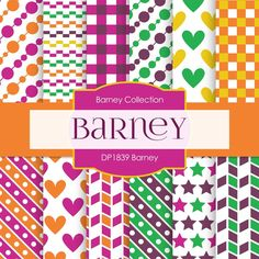 Barney Digital Paper DP1839