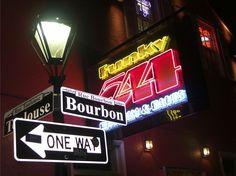 Bourbon Street - New Orleans, Louisiana