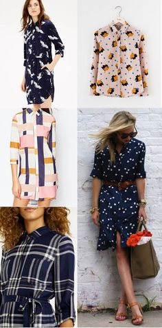 Inspiration for Making Your Rosa Shirt or Dress | Tilly and the Buttons | Bloglovin'