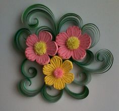 Stunning! Gotta see how whatever-it-is there is made! I'm conflicted-paper quilling but the flowers look kinda like a needlepoint floss on wire shape???....completely blown mind here, never seen anything like this before: ) beautiful!!