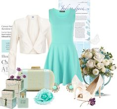 """spring wedding guest"" by watergirl874 ❤ liked on Polyvore"