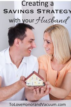 Creating a Savings Strategy with Your Husband. #marriage #money
