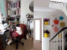 Karen Nicol's beautiful home | Mollie Makes Handbag WAll??