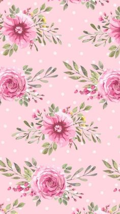 images about Pink Talk on We Heart It Cath Kidston Wallpaper, Floral Wallpaper Iphone, Flowery Wallpaper, Pattern Wallpaper, Flower Backgrounds, Wallpaper Backgrounds, Little Flowers, Vintage Flowers, Cute Wallpapers