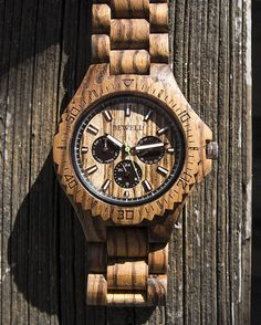 Unique gift ideas for husband, groomsmen, boyfriend, Father. 100% Real Natural Zebra Wood Wrist Watch. Each Unique Watch is Handcrafted by a Professional Watchmaker. Youll be amazed when you hold a wood watch in your hand or wear it on your wrist since it is really comfortable. High Quality, Luxury Fashion and Stylish with Japanese Movement. The Wood color makes it Simple and Easy to Match with all your Outfits. Great for Casual or Business events. It comes with Nice Gift Box.  ★ Fast…