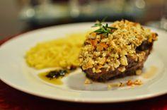 Especial Dia dos Namorados: Receita - Carré de cordeiro em crosta de castanha do Brasil com tagliatelle trufado