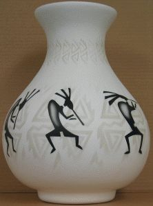Kokopelli Parade Pottery
