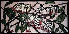 Margaret Preston Woodblock 'Australian Mistletoe'