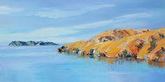 Top of the South IslandNZ .This is done with a palette knife using oil paints. Living In New Zealand, Palette Knife, Oil, Artist, Painting, Outdoor, Outdoors, Artists, Painting Art
