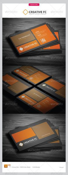 Print Templates - Corporate Business Cards 230   GraphicRiver