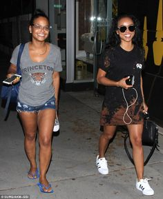 Bonding time: Christina Milian and Karrueche Tranwere spotted leaving a mani-pedi session at Laqué Nail Bar and Beauty Lounge in North Hollywood on Tuesday night