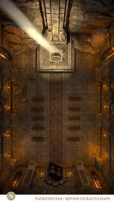 Dnd World Map, Fantasy World Map, Dungeon Tiles, Dungeon Maps, Dnd Sorcerer, Underground Map, Building Map, Rpg Map, Dnd Art