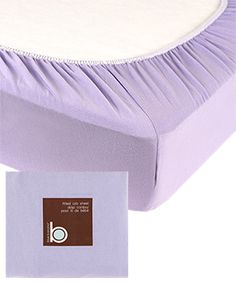 Jersey Knit Fitted Crib Sheet
