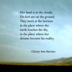 The Horizon - Poem by Christy Ann Martine ~ Love Poems - Poetry - Quotes ~ Romance  #christyannmartine