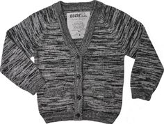 Knitted cardigan for baby and kids from the trendy Swedish rockabilly brand for kids: Rockefella