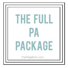 The PA Platform - The Full PA Package