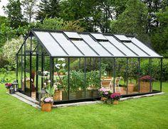 Juliana Gardener 21,4 m² turvalasilla, harmaa runko - Kivikangas