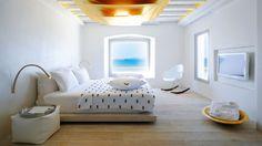 Cavo Tagoo Hotel en Míkonos Grecia | Splendia - http://pinterest.com/splendia/