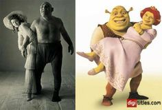 "Was ""The French Angel"" Maurice Tillet the Model for Shrek?"