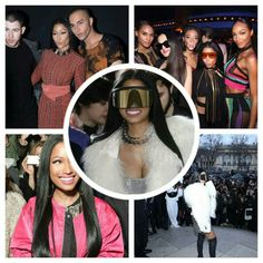 Nicki Minaj is dominating Paris Fashion Week, stepping out for both Balmain and Rick Owens' shows yesterday (March 2) in two different ensembles and then hitting up the Balmain Afterparty. Nicki Minaj Is Like Fuck That I'm Chillin In Paris Bitches hahahaha