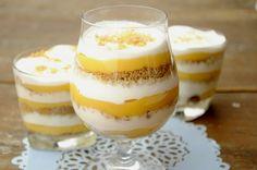 Citromkrémes-poharas desszert