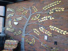 Sparrow Hospice donor tree sculpture