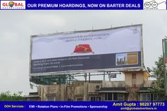Covering every medium of Outdoor #Media with all premium location sites. Visit www.globaladvertisers.in and BOOK NOW ! #advertisers #ooh #mumbai #hoarding