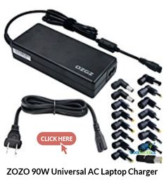 ZOZO 90W Universal AC Laptop Charger  for more details visit http://coolsocialads.com/zozo-90w-universal-ac-laptop-charger--25932