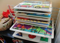 Open Toy Storage: Inviting Our Children to Play  *have puzzles out for easy access
