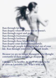run..run...run....run inspiration