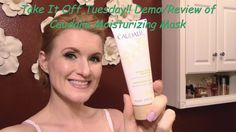 Take It Off Tuesday!!! Demo/Review of Caudalie Moisturizing Mask