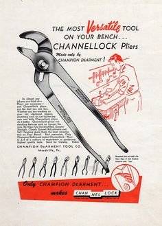 CHANNELLOCK by Depression Press, via Flickr                                                                                                                                                           CHANNELLOCK                                         ..