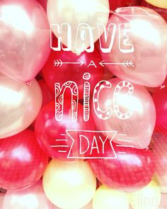 Pink balloons! By Elina Econ