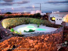 #Ferienhaus mit #Privatpool in Macher in #Lanzarote